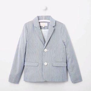 Like New Jacadi Ottoman suit jacket 4T boy